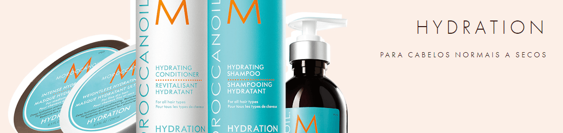 Moroccanoil Hydration - CABELO NORMAL A SECO