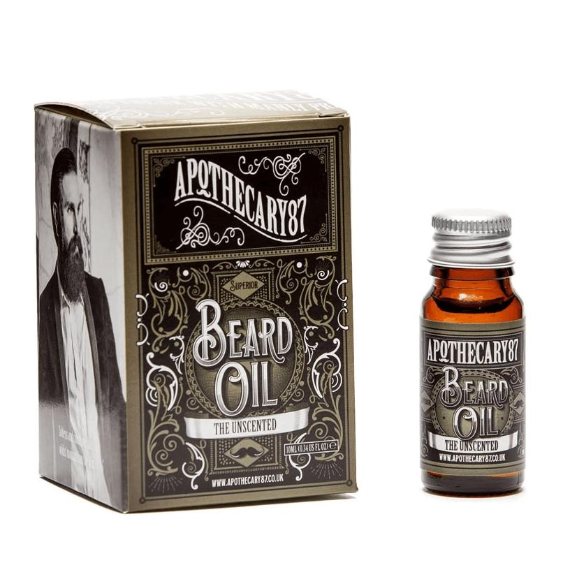 Apothecary 87 Beard Oil Sem Fragrância 10ml