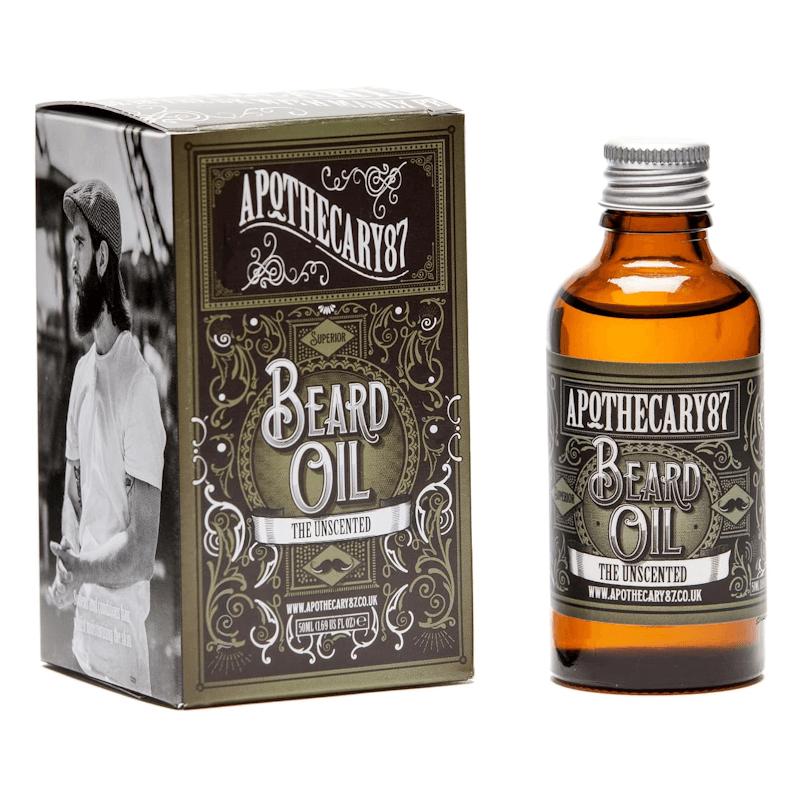 Apothecary 87 Beard Oil Sem Fragrância 50ml
