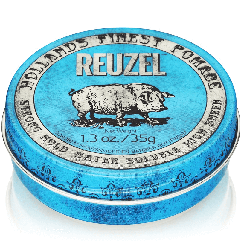Blue Reuzel Strong Hold High Sheen - Fixação Forte e Alto Brilho 113g