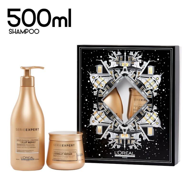 Coffret Natal 2020 L'oréal Absolut Repair Gold