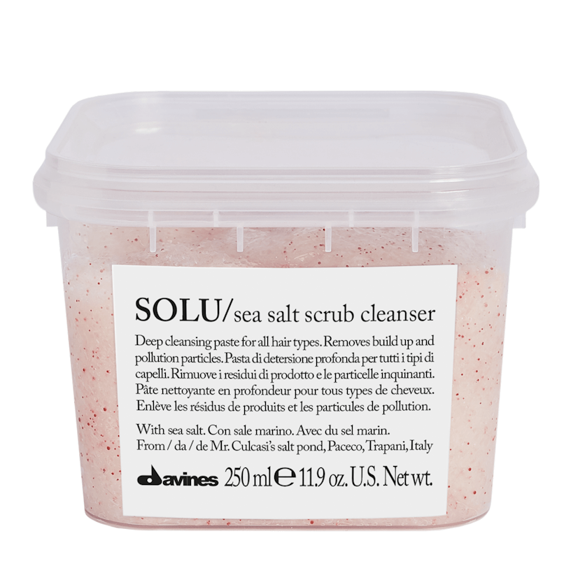 Davines Solu Sea Salt Scrub Cleanser 250ml
