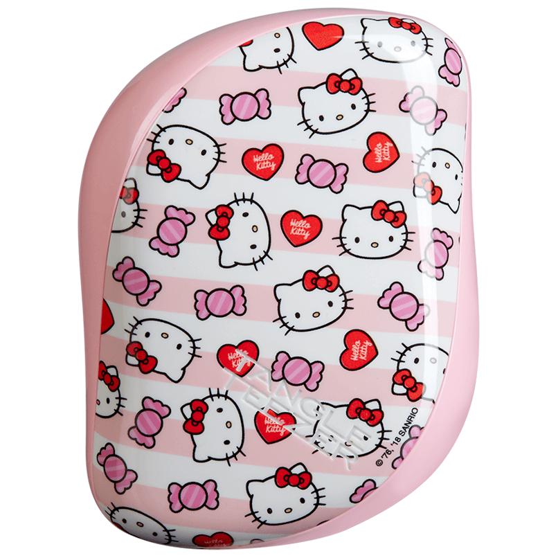 Escova Tangle Teezer Hello Kitty Candy Stripes