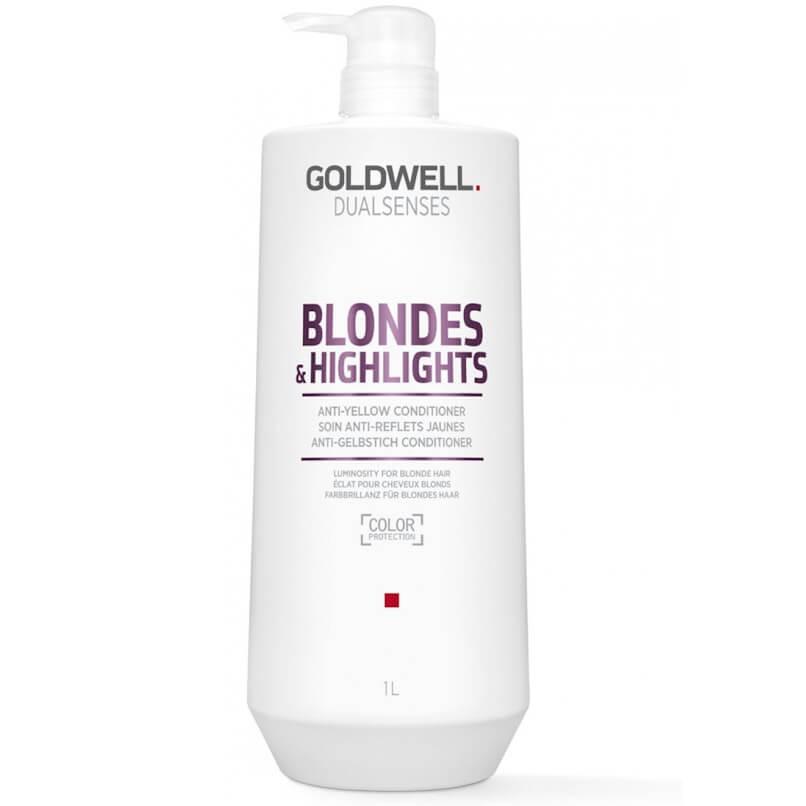 Goldwell Dualsenses Blondes & Highlights Anti-Yellow Condicionador 1000ml