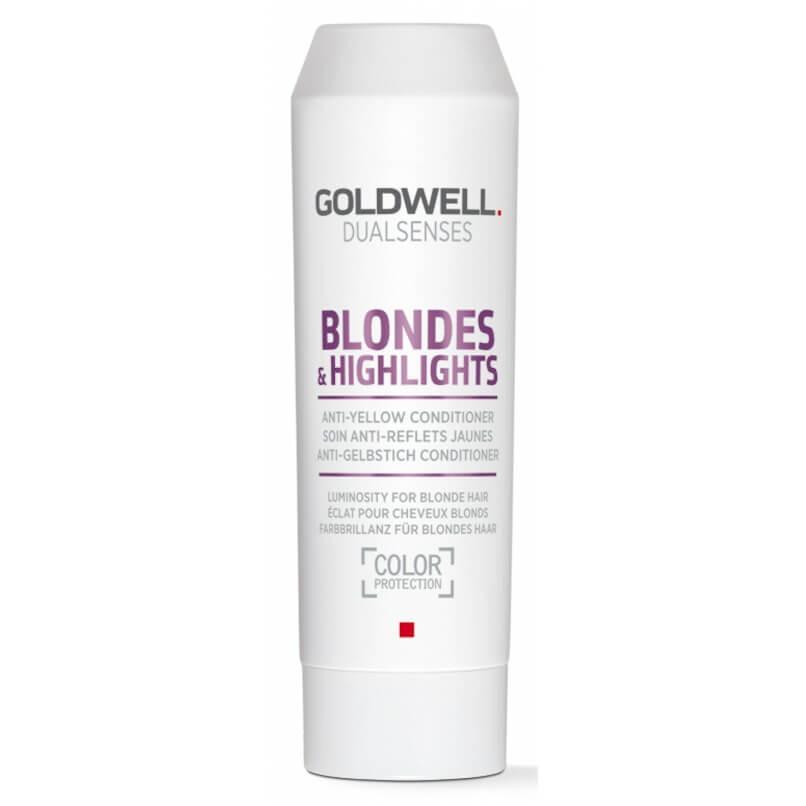 Goldwell Dualsenses Blondes & Highlights Anti-Yellow Condicionador 200ml