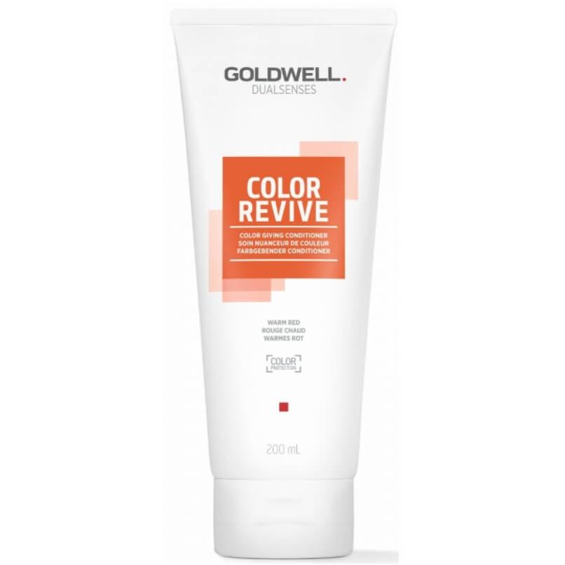 Goldwell Dualsenses Color Revive Condicionador Warm Red 200ml
