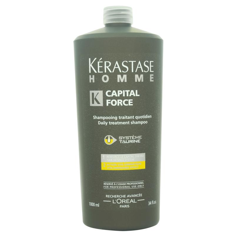 Kérastase Homme Capital Force Vita Energising Shampoo 1000ml