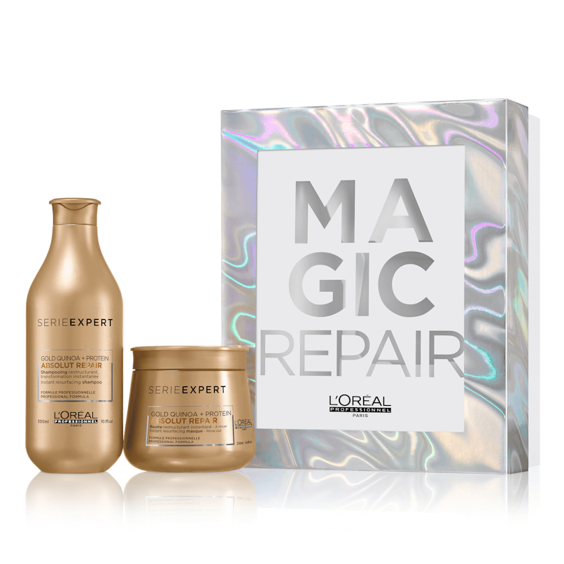 Loreal Absolut Repair Gold Coffret Natal 2019