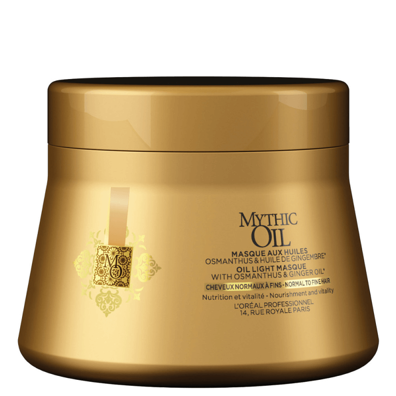 Loreal Mythic Oil Máscara Cabelo Normal/Fino 200ml