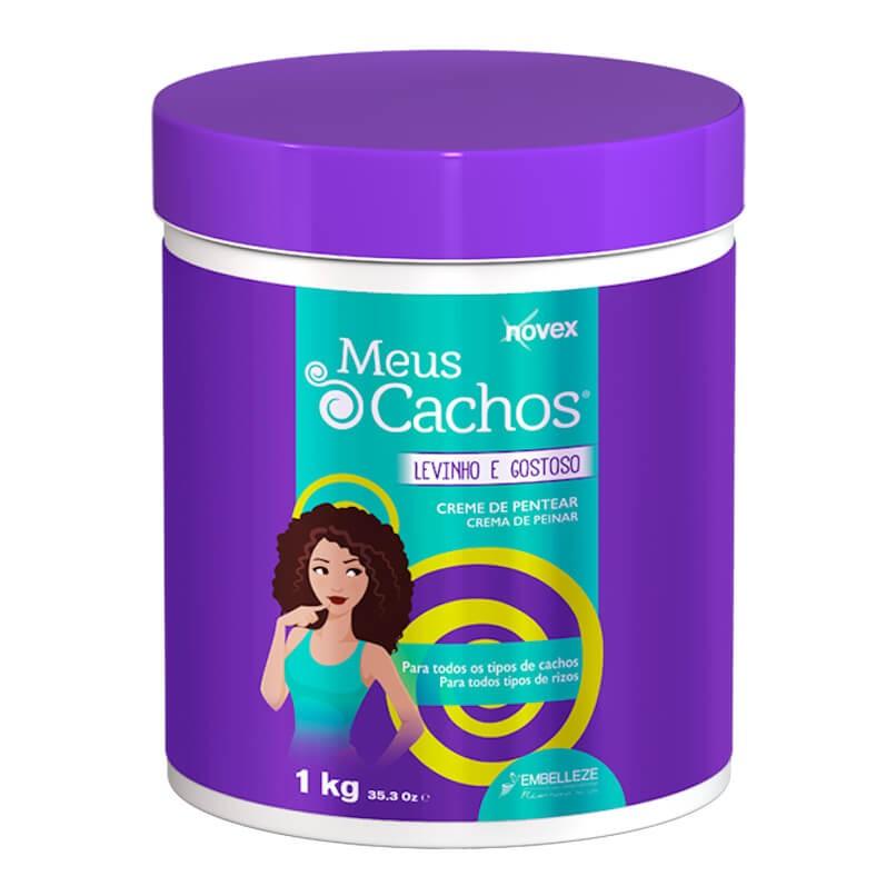 Novex Creme De Pentear Levinho E Gostoso 1kg