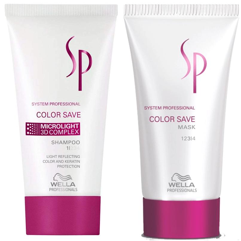 Pack Viagem Wella SP Color Save Cabelo Pintado