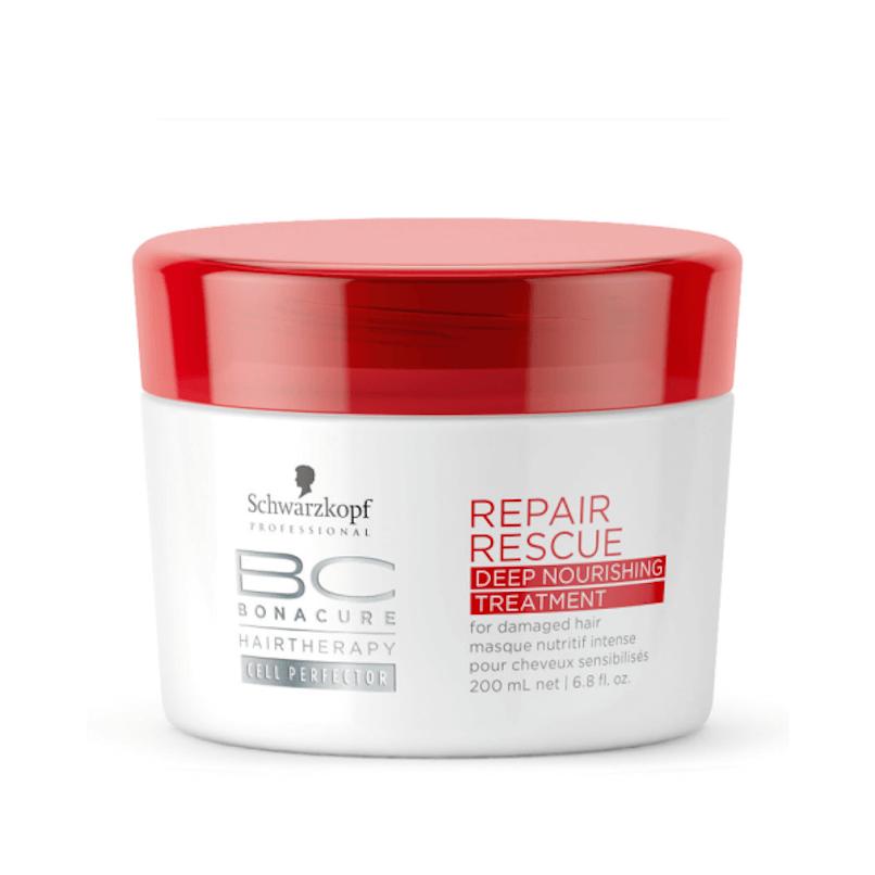 Schwarzkopf BC Repair Rescue Deep Máscara de Nutrição Intensiva 200ml