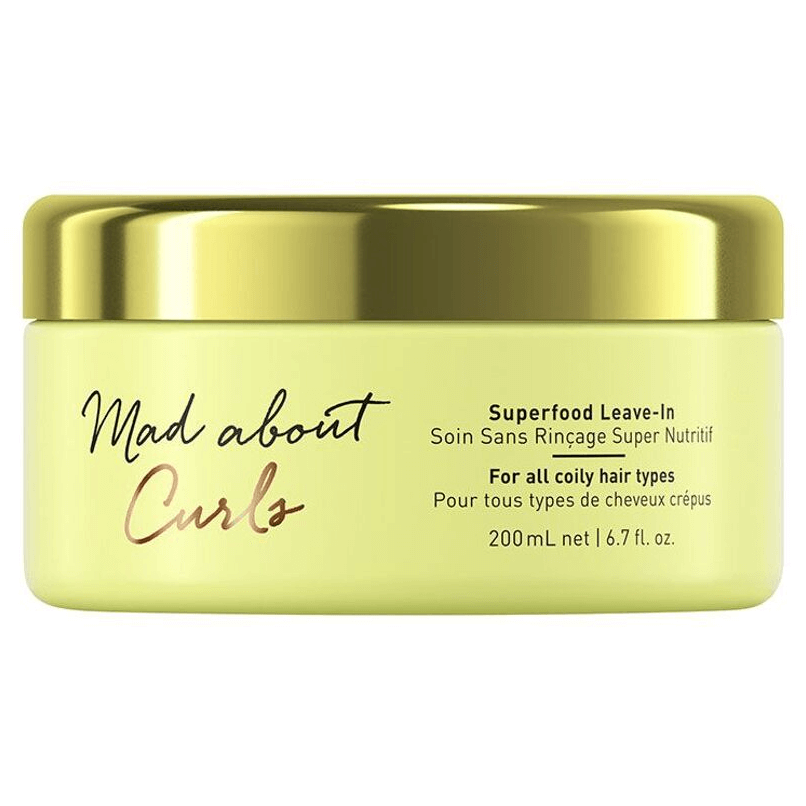 Schwarzkopf Mad About Curls Máscara Superfood Leave-in 200ml