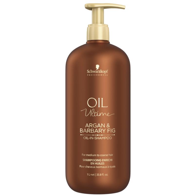 Schwarzkopf Oil Ultime Shampoo Argan & Barbary Fig 1000ml