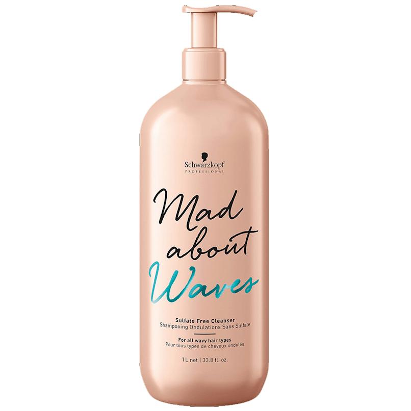 Schwarzkopf Shampoo Mad About Waves Sem Sulfatos 1000ml