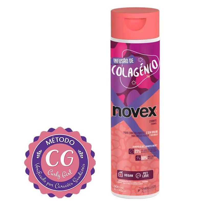 Shampoo Novex Infusão De Colagénio 300ml