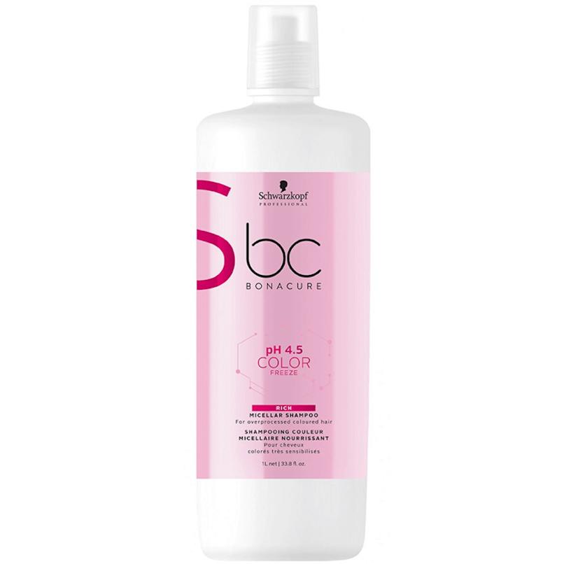 Shampoo Schwarzkopf Color Freeze Rich pH 4.5 1000ml
