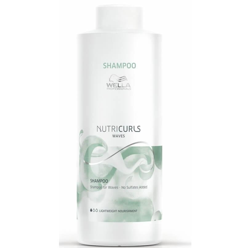 Wella Shampoo Nutricurls Waves 1000ml
