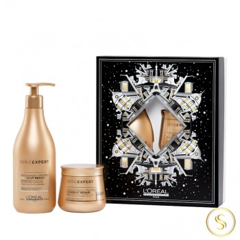 Coffret Natal 2020 L'oréal Absolut Repair Gold