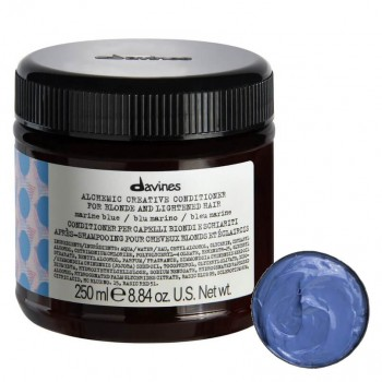 Davines Alchemic Condicionador Marine Blue 250ml