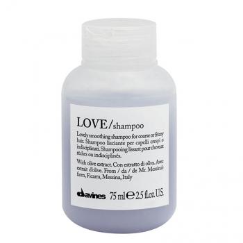 [VIAGEM] Davines LOVE SMOOTHING Shampoo 75ml
