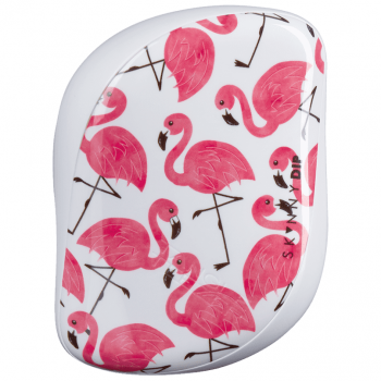 Escova Tangle Teezer Skinny Dip Flamingo Print