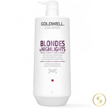 Goldwell Dualsenses Blondes & Highlights Anti-Yellow Condicionador 1000ml