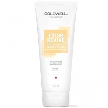 Goldwell Dualsenses Color Revive Condicionador Light Warm Blonde 200ml