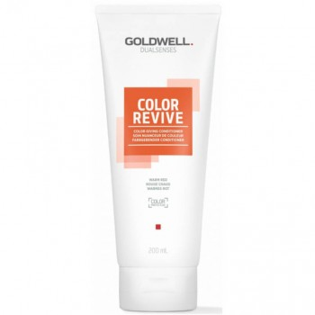 Goldwell Dualsenses Color Revive Condicionador Warm Red 200ml