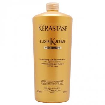 Kérastase Elixir Ultime Sublime Cleansing Oil Shampoo 1000ml