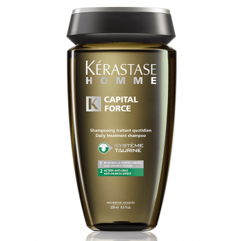 Kérastase Homme Capital Force Anti Gras Shampoo Anti-oleosidade 250ml