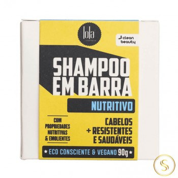 Lola Shampoo em Barra Nutritivo 90g