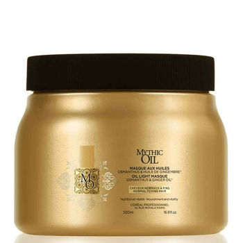 Loreal Mythic Oil Máscara Cabelo Normal/Fino 500ml