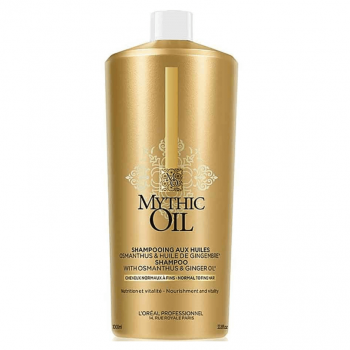 Loreal Mythic Oil Shampoo Cabelo Normal/Fino 1000ml