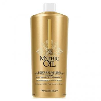 Loreal Mythic Oil Shampoo Cabelo Normal/Fino 1000ml