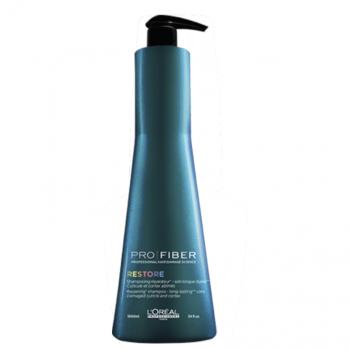 Loreal Pro Fiber Restore Shampoo 1000ml