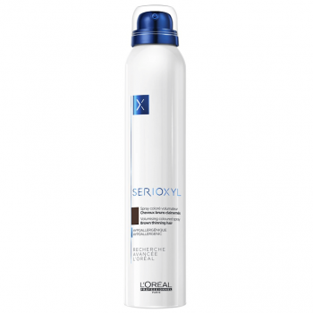 Loreal Serioxyl Spray Volumizante de Cor (Castanho) 200ml