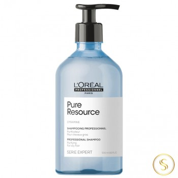 Loreal Shampoo Pure Resource 500ml