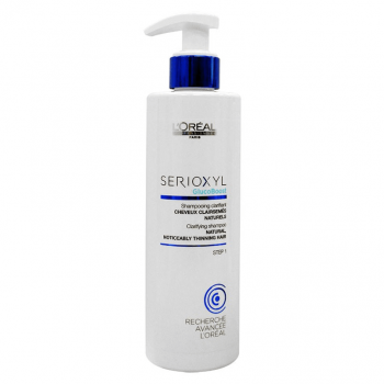 Loreal Shampoo Serioxyl Cabelos Naturais 250ml