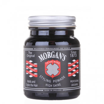 Morgans Styling Pomade High Shine Firm Hold 100ml