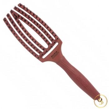 Olivia Garden Fingerbrush Combo Chocolate Medium