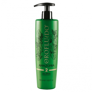 Orofluido Amazonia Oil Rinse 500ml - Passo 2
