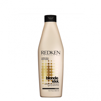 Redken Blonde Idol Shampoo sem sulfatos 300ml