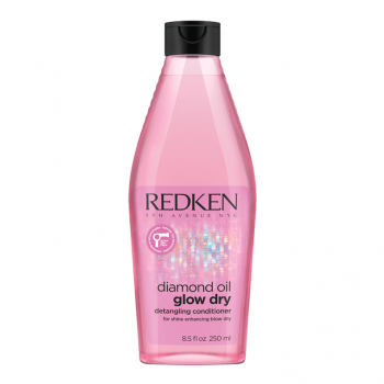 Redken Diamond Oil Glow Dry Condicionador 250ml