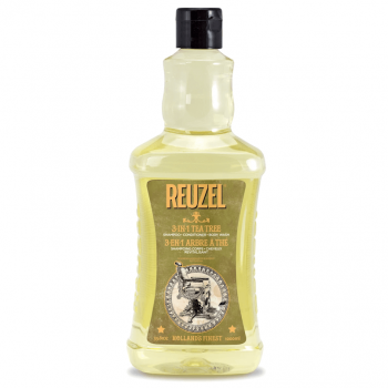 Reuzel 3-in-1 Tea Tree Shampoo 1000ml
