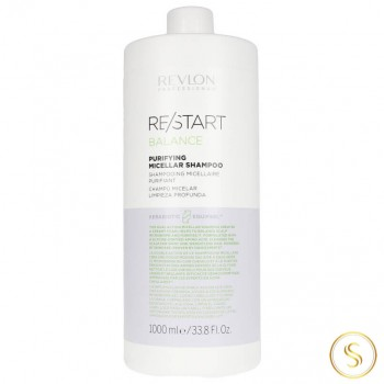 Revlon Restart Balance Purifying Shampoo 1000ml