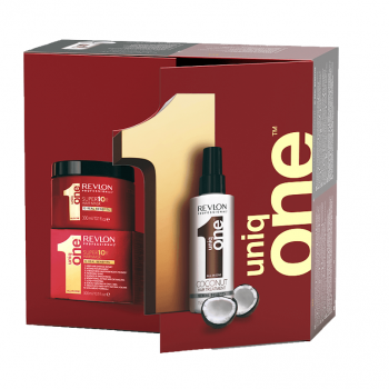 PACK Revlon Uniq One Coco 150ml + Máscara 300ml