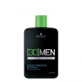 Schwarzkopf 3D Men Champô Anti-Oleosidade 250ml