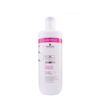 Schwarzkopf BC Color Freeze Champô Sem Sulfatos 1000ml