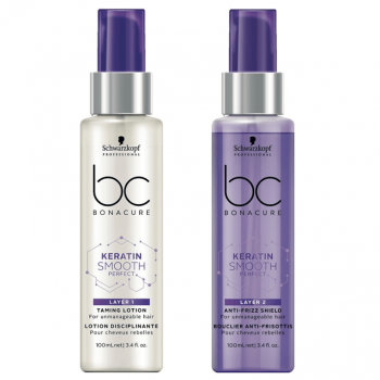 Schwarzkopf BC Keratin Smooth Perfect Camada Dupla 100+100ml